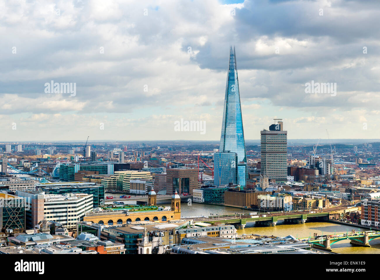 Le Shard, London, Angleterre, Royaume-Uni, Europe Photo Stock