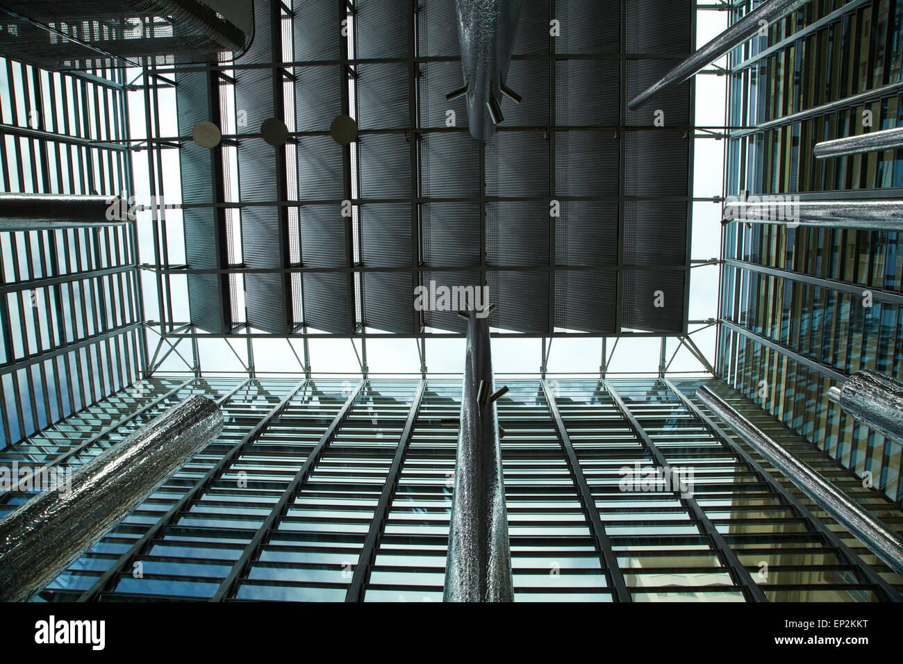 Intérieur de Britomart Transport Centre, Auckland, île du Nord, Nouvelle-Zélande Photo Stock