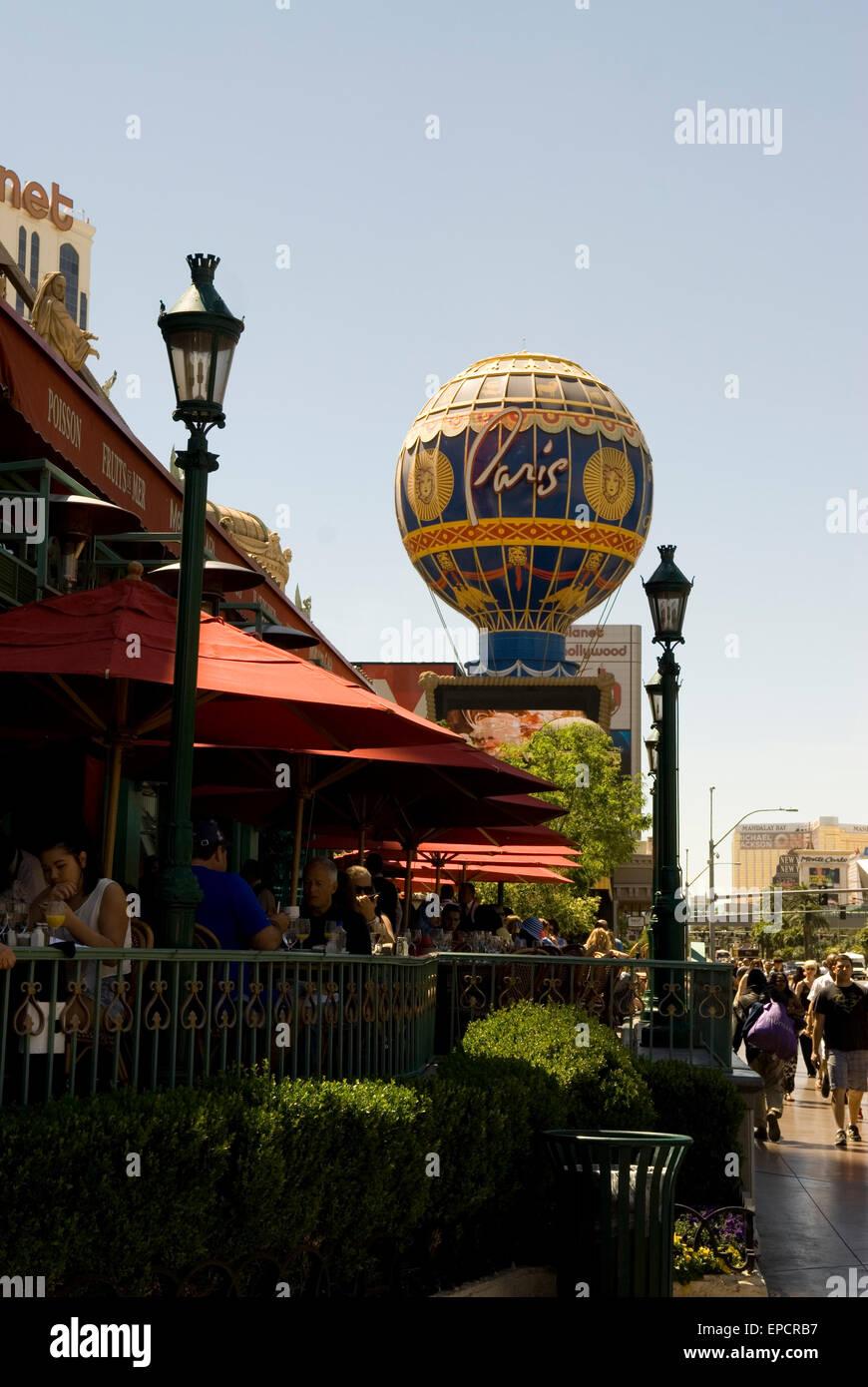 Mon Ami Gabi Café Las Vegas NEVADA USA Photo Stock