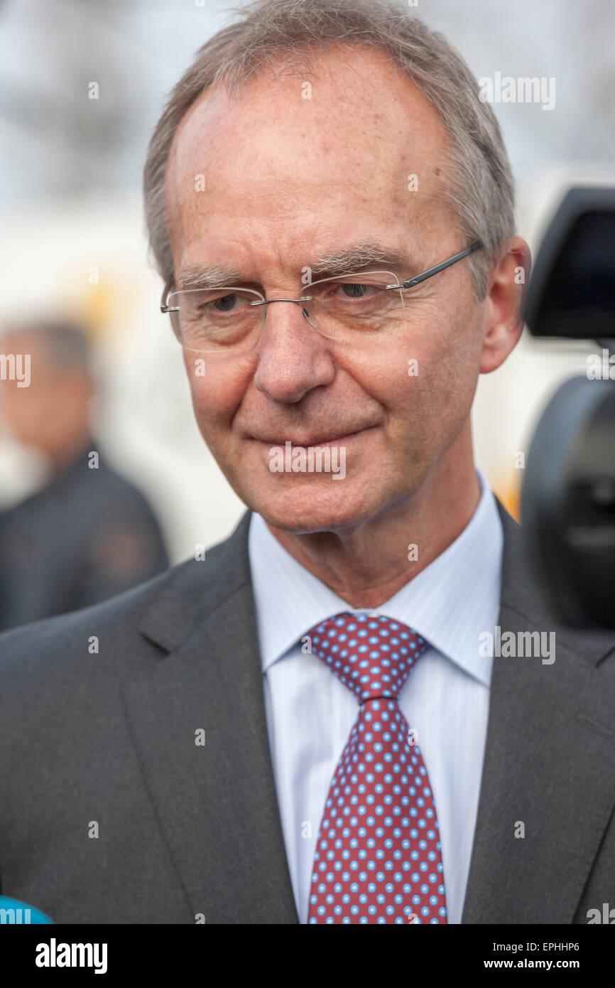 Ministère néerlandais des affaires économiques, M. Henk Kamp Photo Stock