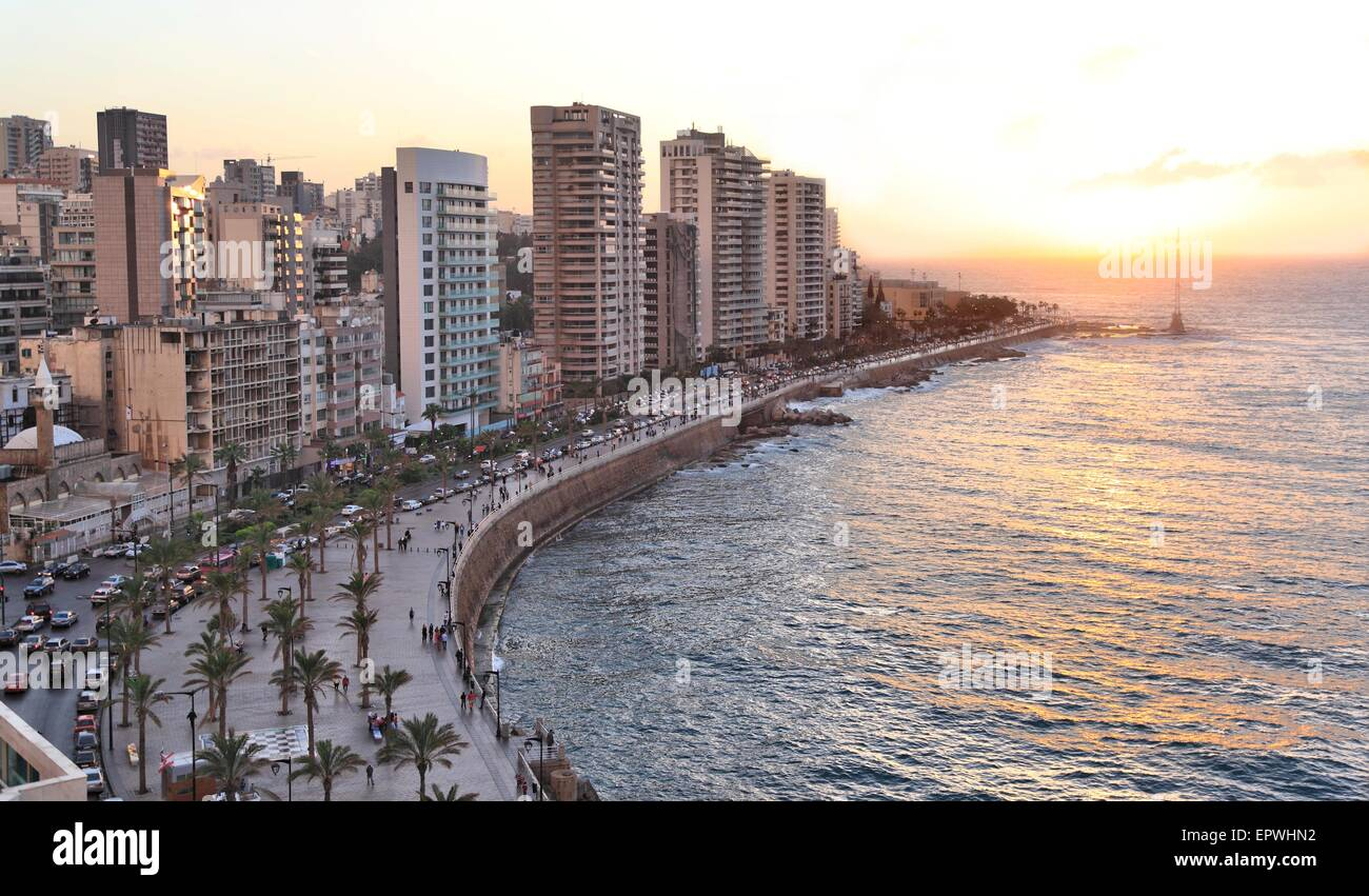 Beyrouth, Liban Photo Stock