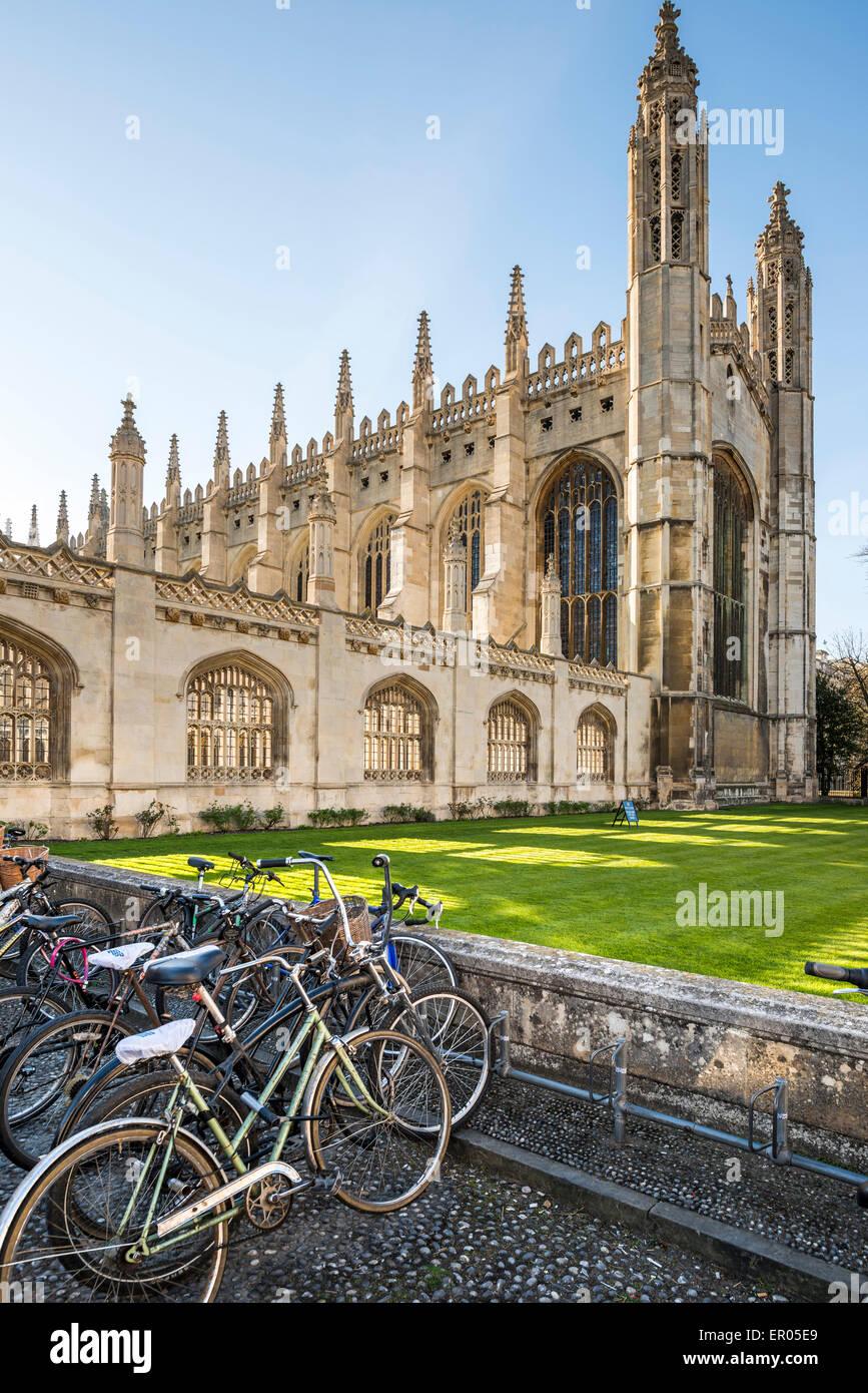 King's College est un collège de l'Université de Cambridge, Royaume-Uni Photo Stock
