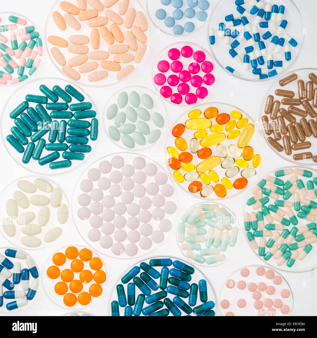 Pharmaceutical Research, conceptual image. Photo Stock