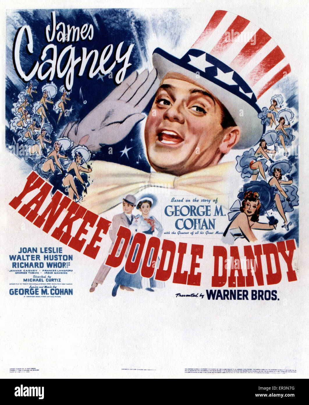 Yankee Doodle Dandy - Movie Poster Photo Stock