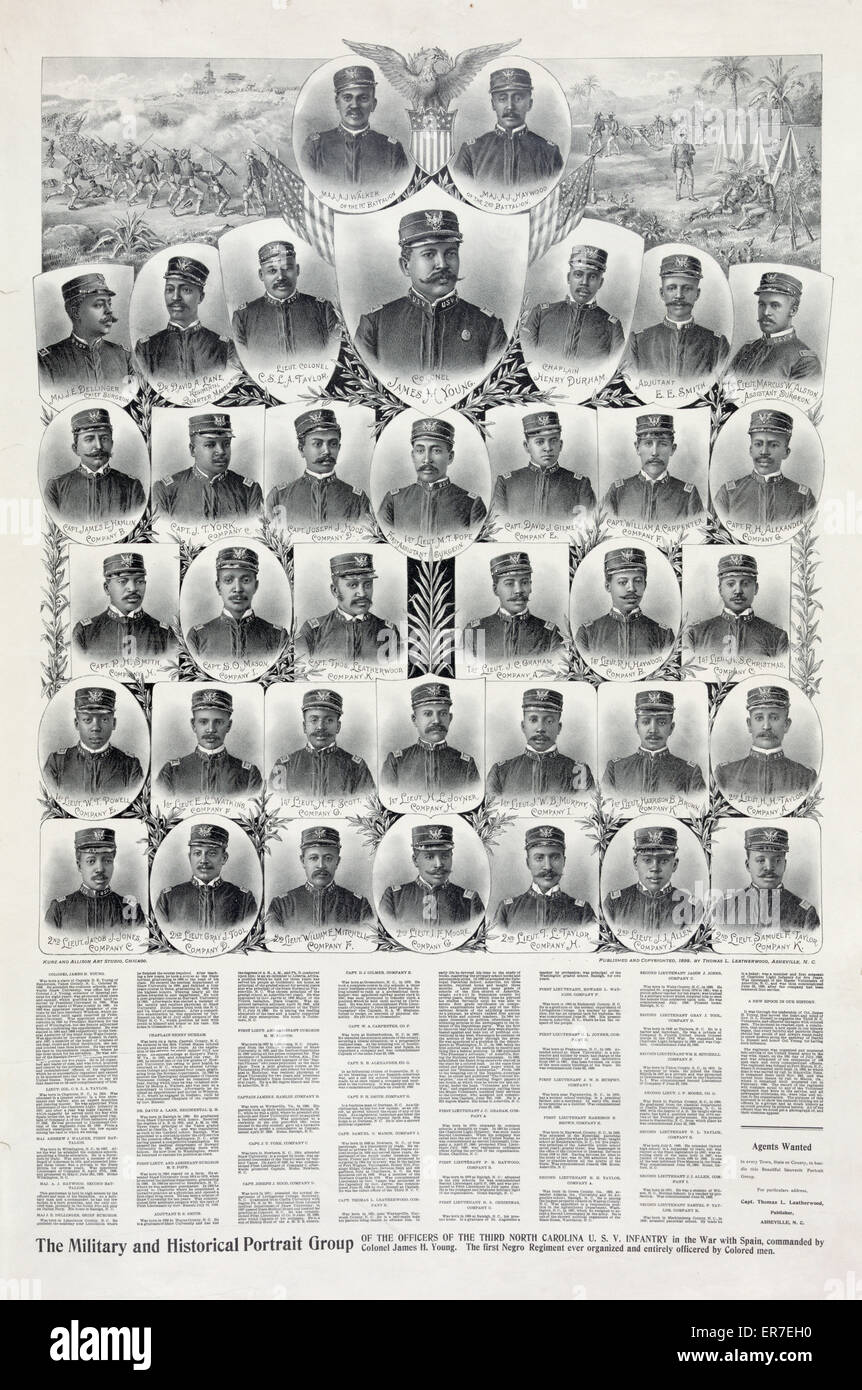 L'armée et portrait historique du groupe. Photo Stock