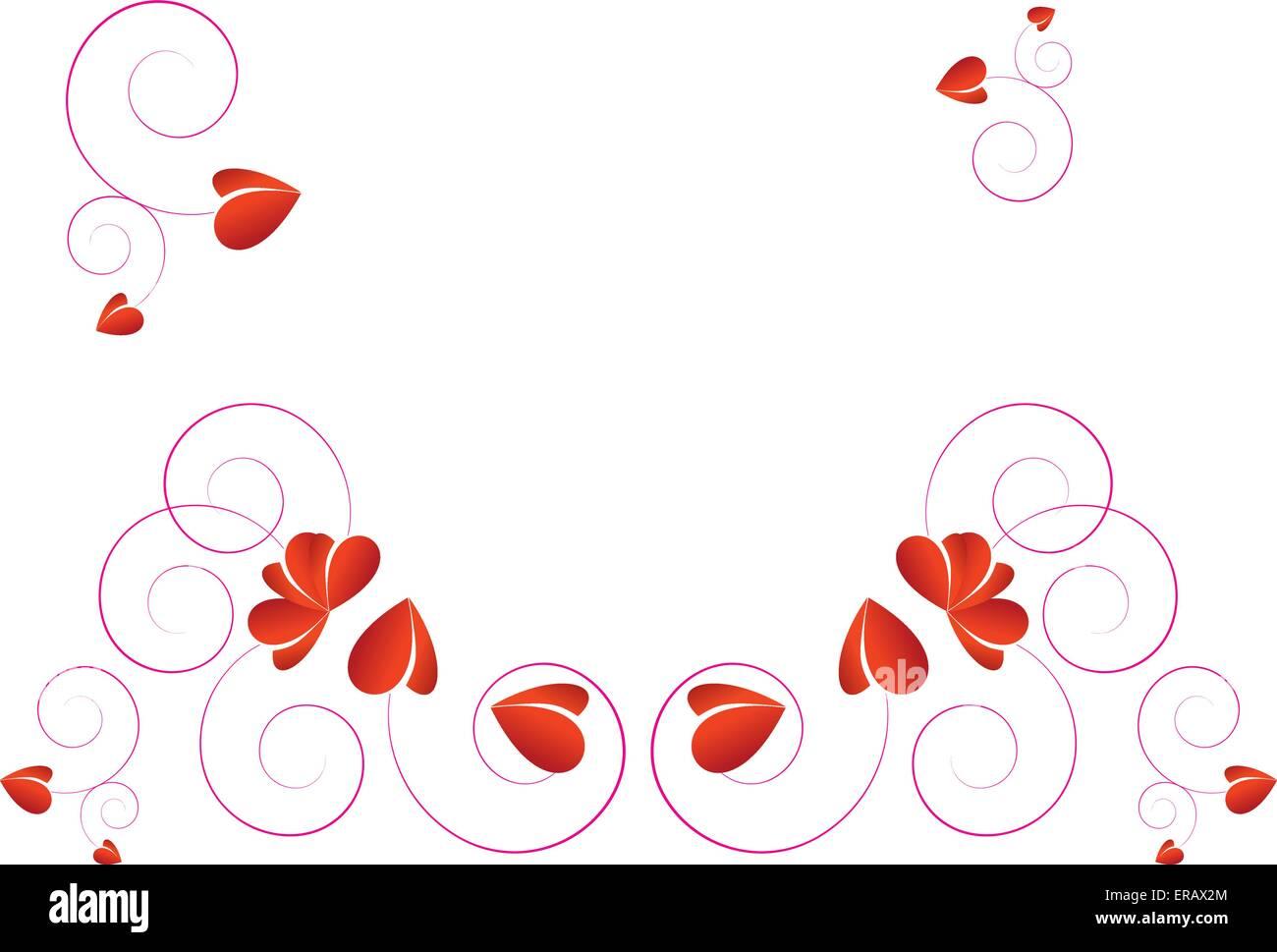 Love design artistique vecteur fond d'onde Photo Stock