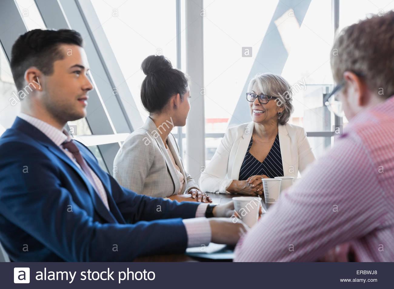 Droit réunion Photo Stock
