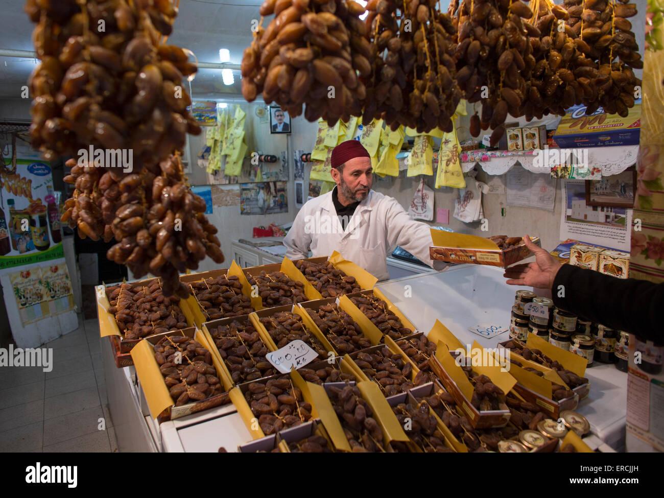Marché à Alger, Algérie Photo Stock