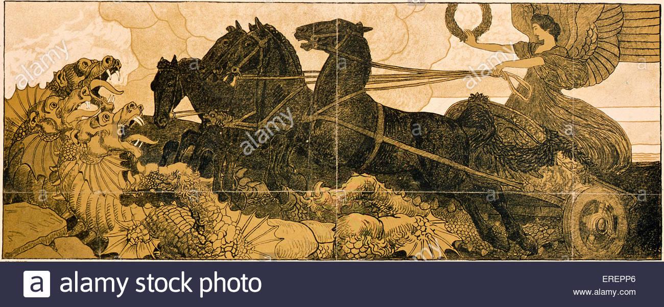 La Première Guerre mondiale poster - autrichien. Appel de l'subsciptions prêts pour la guerre. Sous Photo Stock