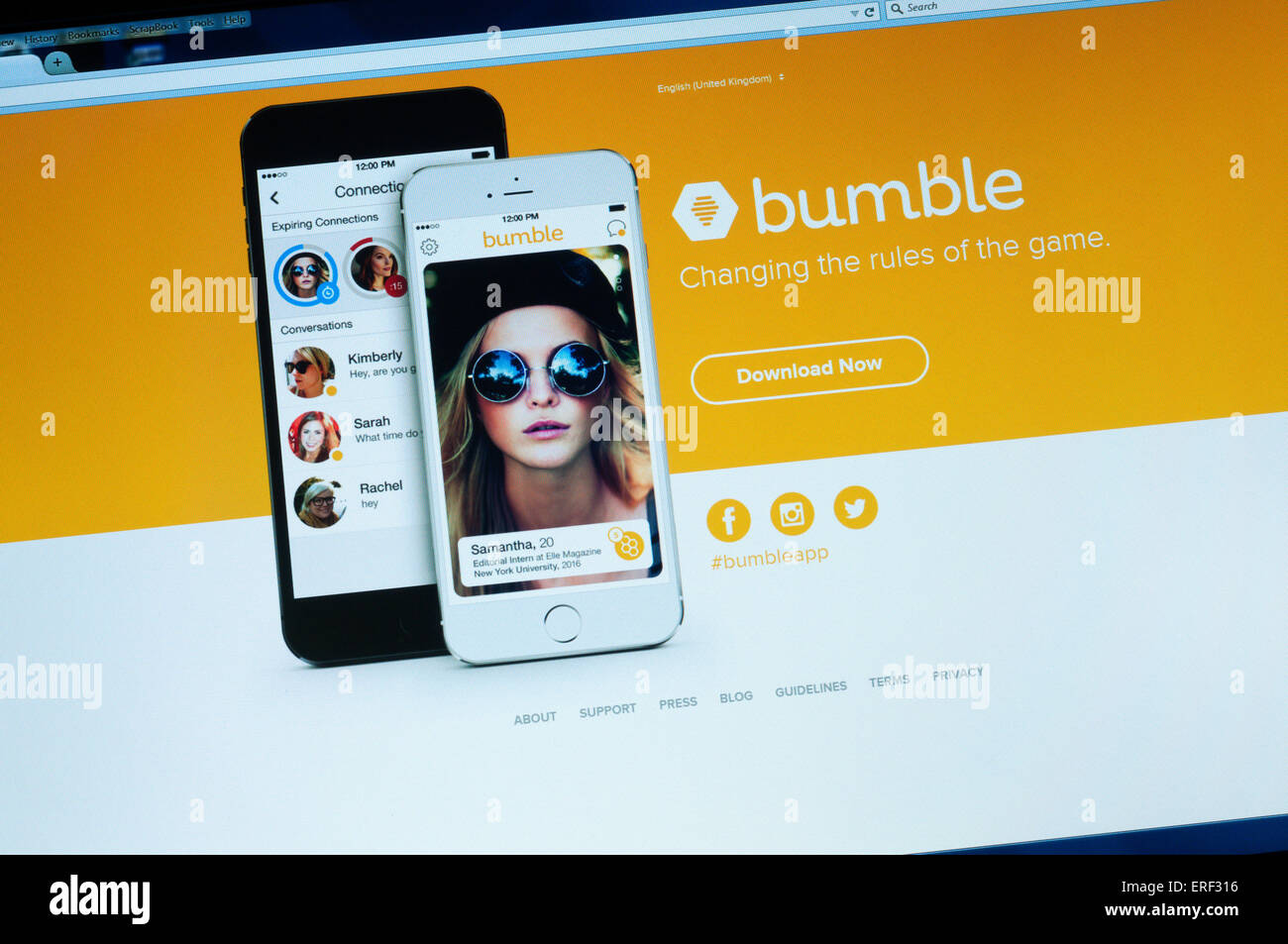 Bumble Dating App Royaume-Uni