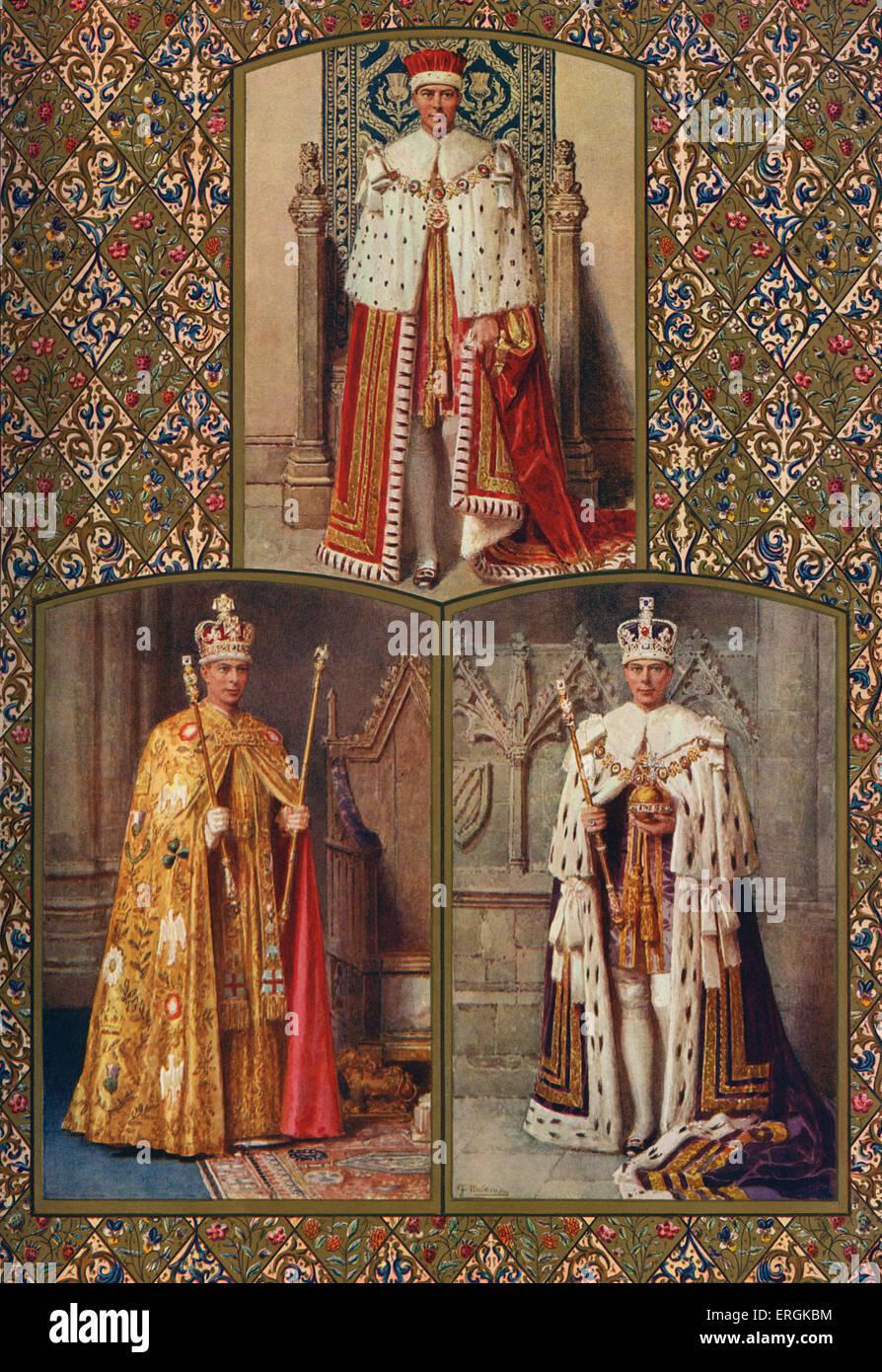 le couronnement du roi le couronnement du roi les robes robe pourpre d 39 tat le manteau. Black Bedroom Furniture Sets. Home Design Ideas