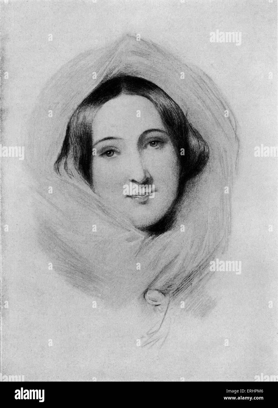 Rosina Doyle Lytton Bulwer Lytton - (Lady). Romancier, essayiste et écrivain lettre: 4 novembre 1802 - 12 mars 1882. Banque D'Images