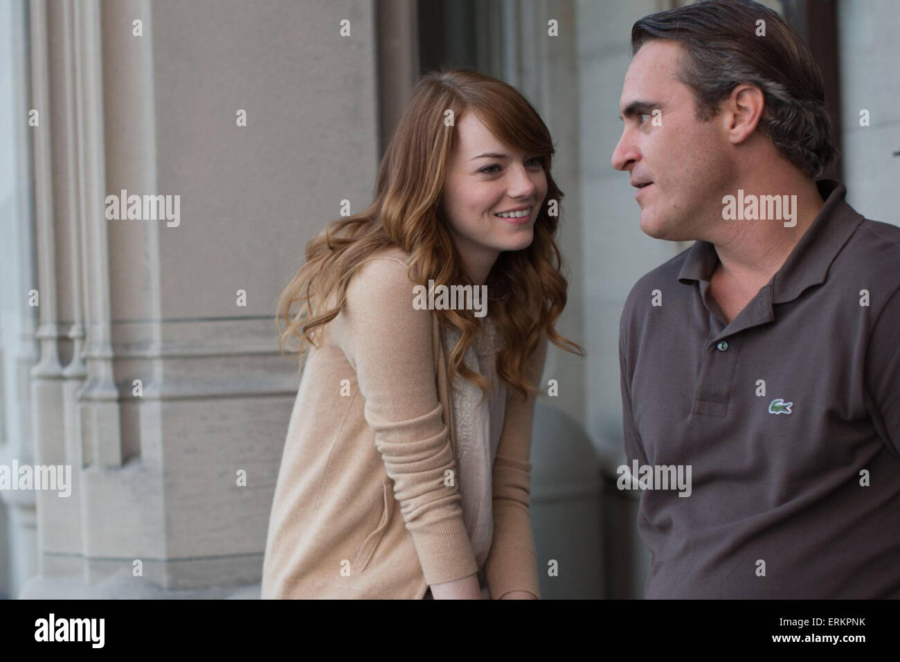 L'homme irrationnel (2015) Emma stone, Joaquin Phoenix Woody Allen (dir) Photo Stock