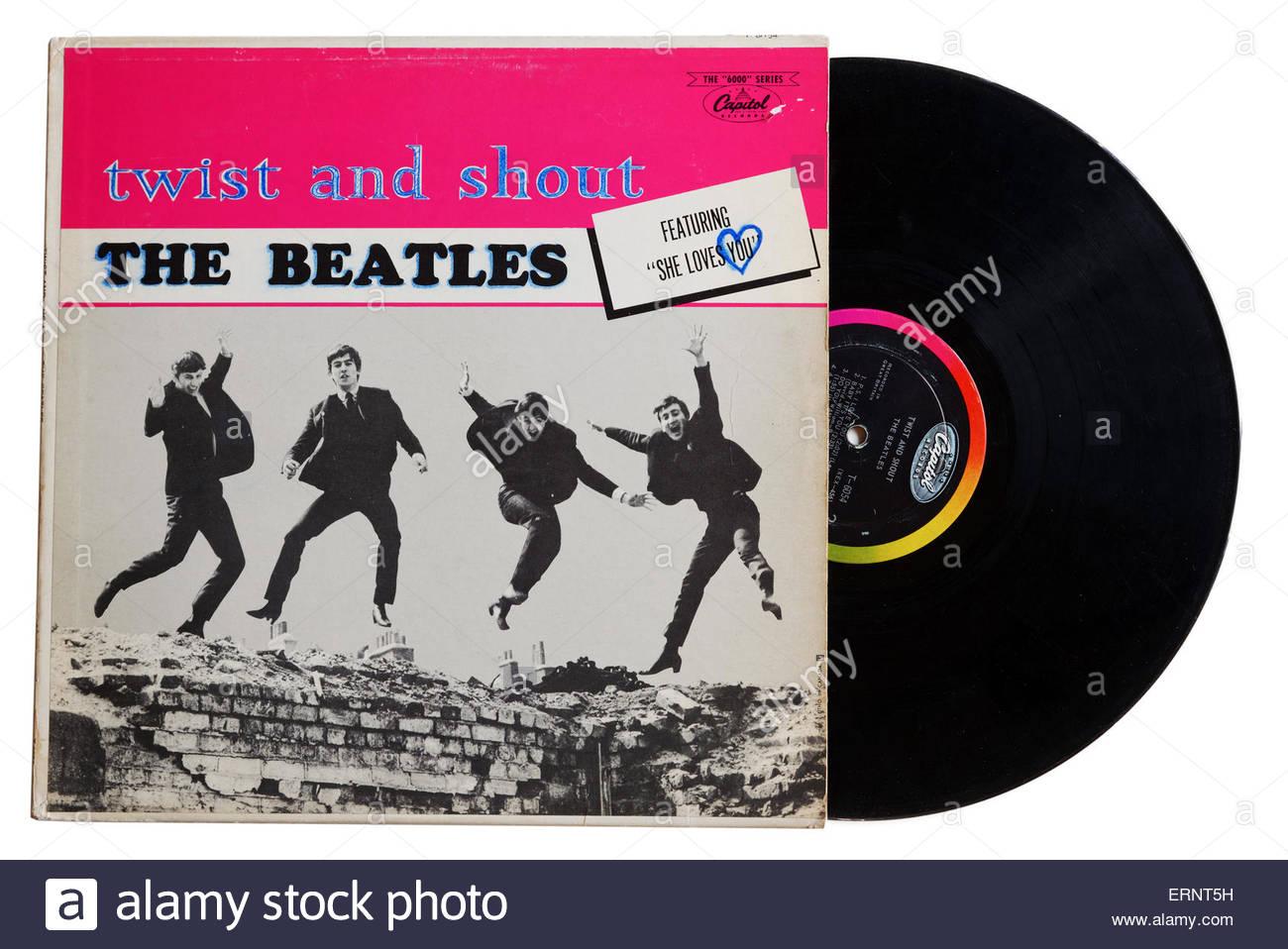 Album des Beatles en mon ame et conscience Photo Stock