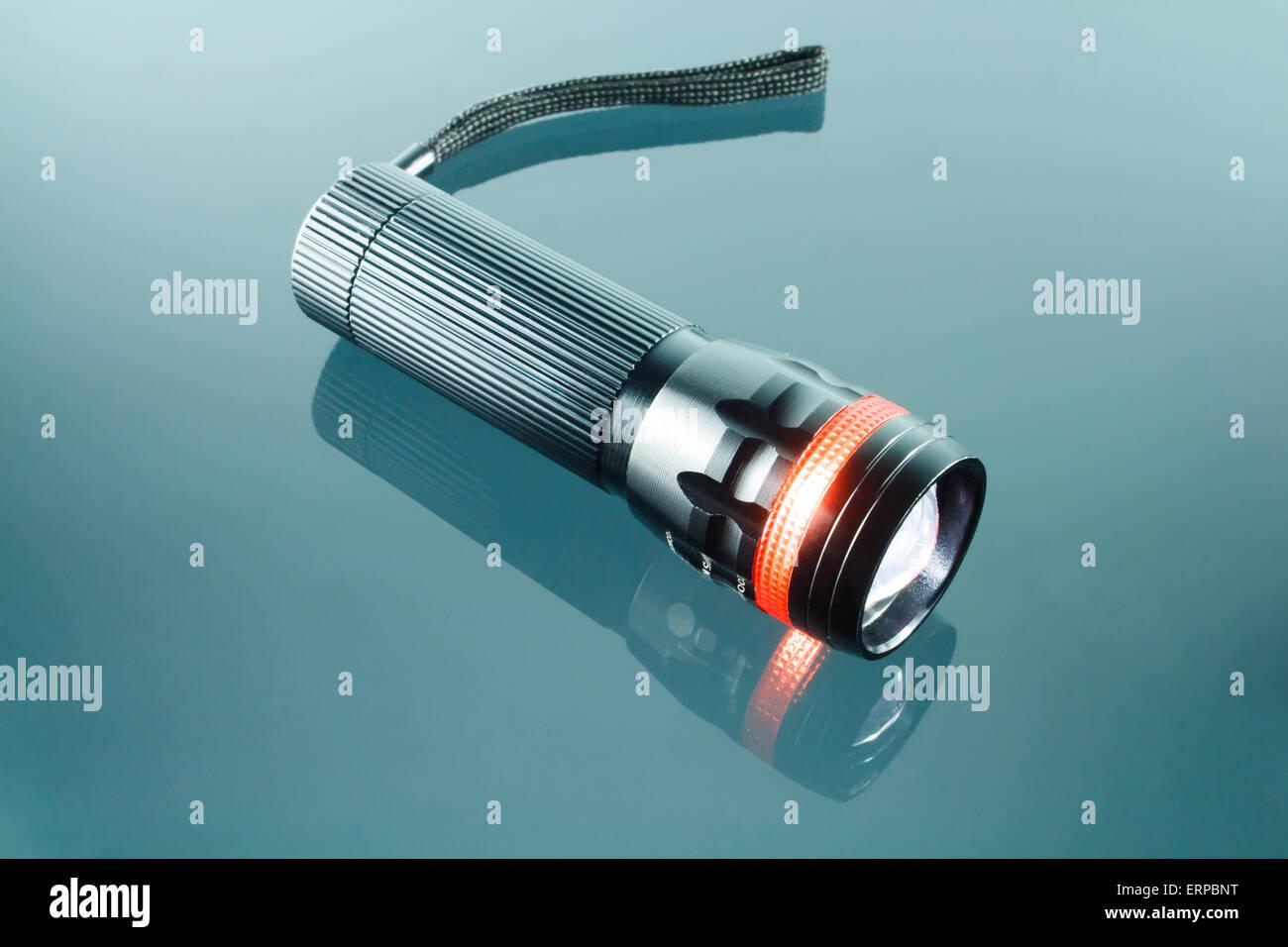 Lumière LED noir flambeau Photo Stock