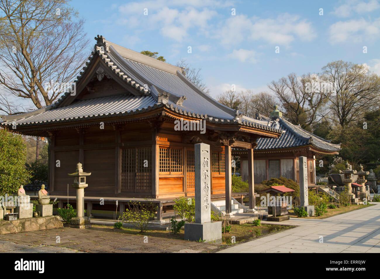 Yashima-ji, Shikoku, Takamatsu, Japon Photo Stock