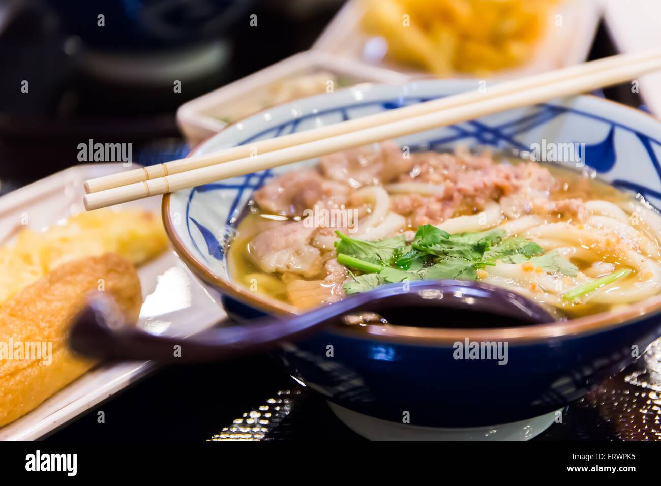 Ramen, nourriture Japonaise Photo Stock