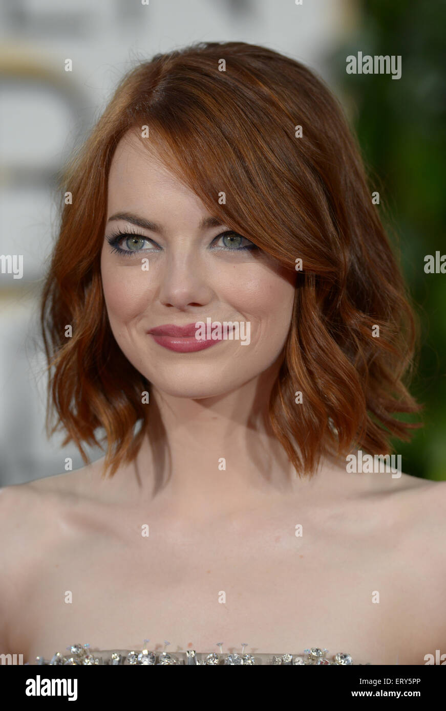 Emma Stone, Los Angeles, CA Photo Stock