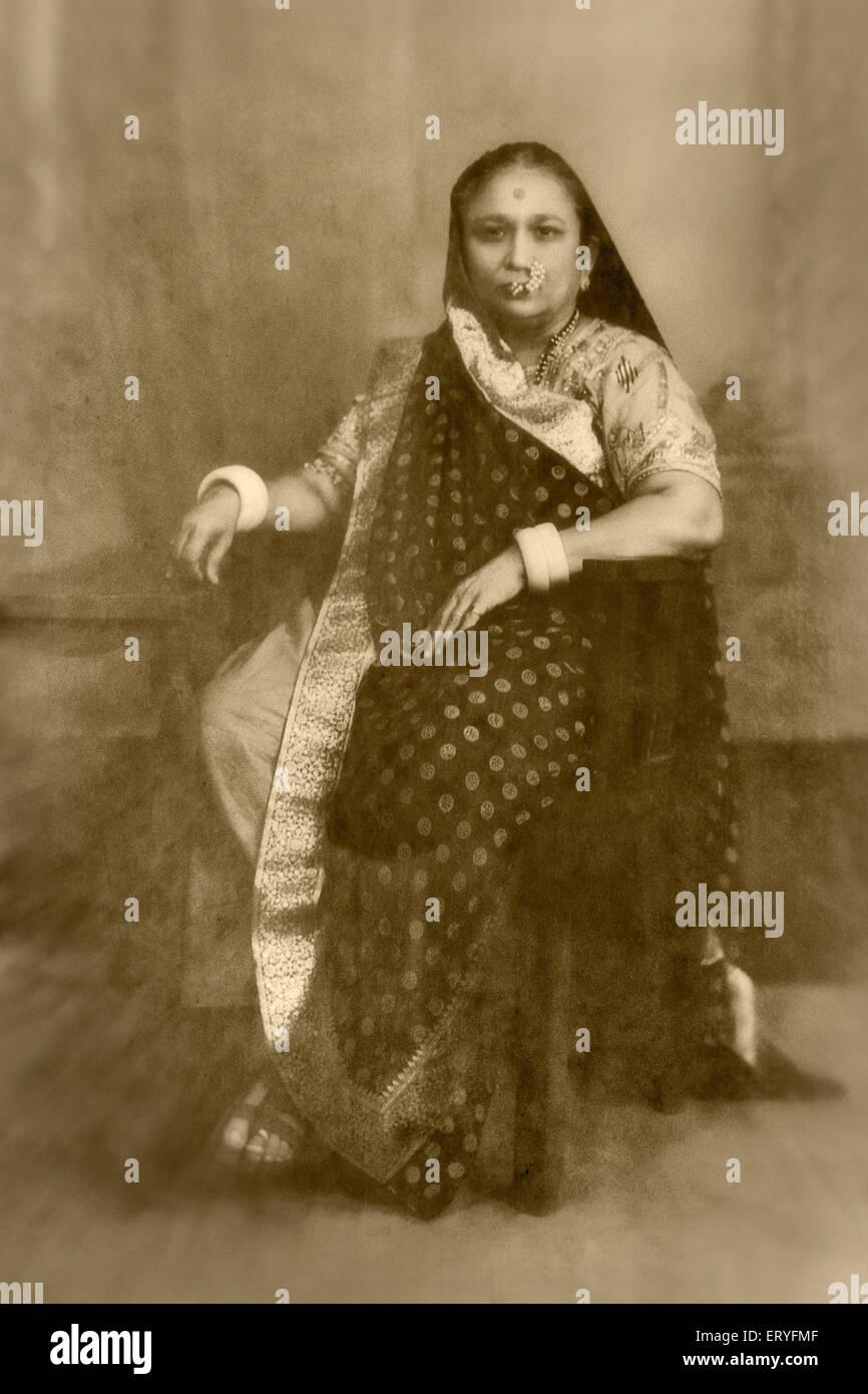 Old vintage photo Photo Stock