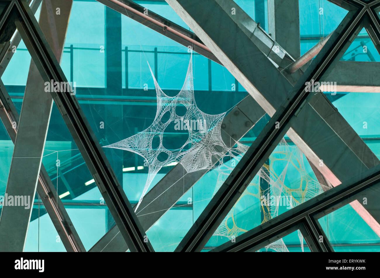 Dessins en architecture; forme; Melbourne Australie Victoria; Photo Stock