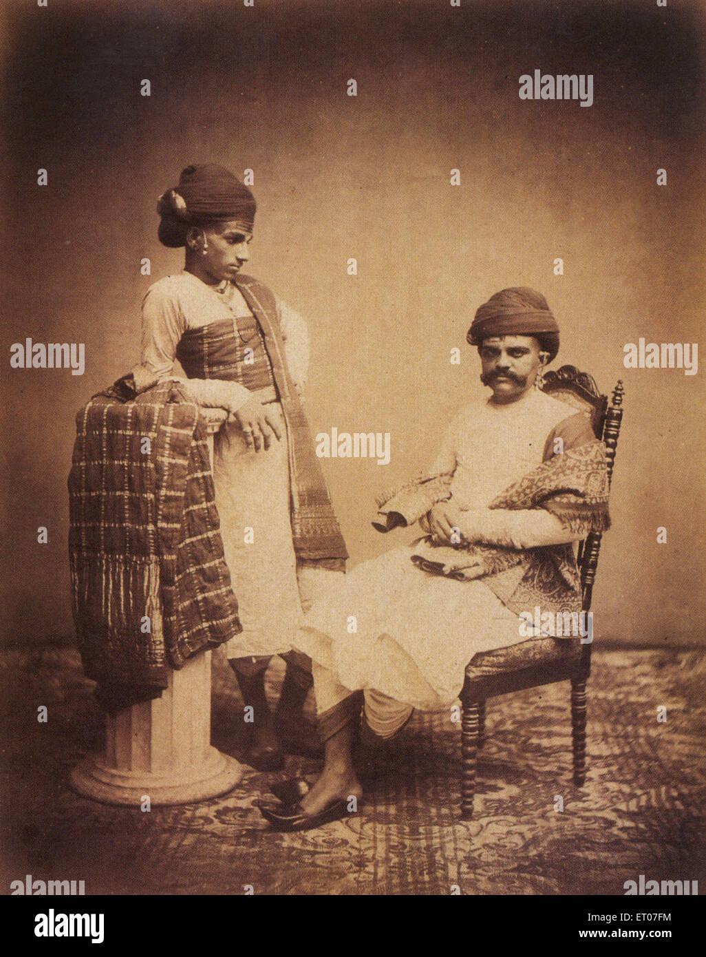 Album photographique d'Amateur indienne Bombay Mumbai Maharashtra;;; l'Inde PAS DE MR Photo Stock