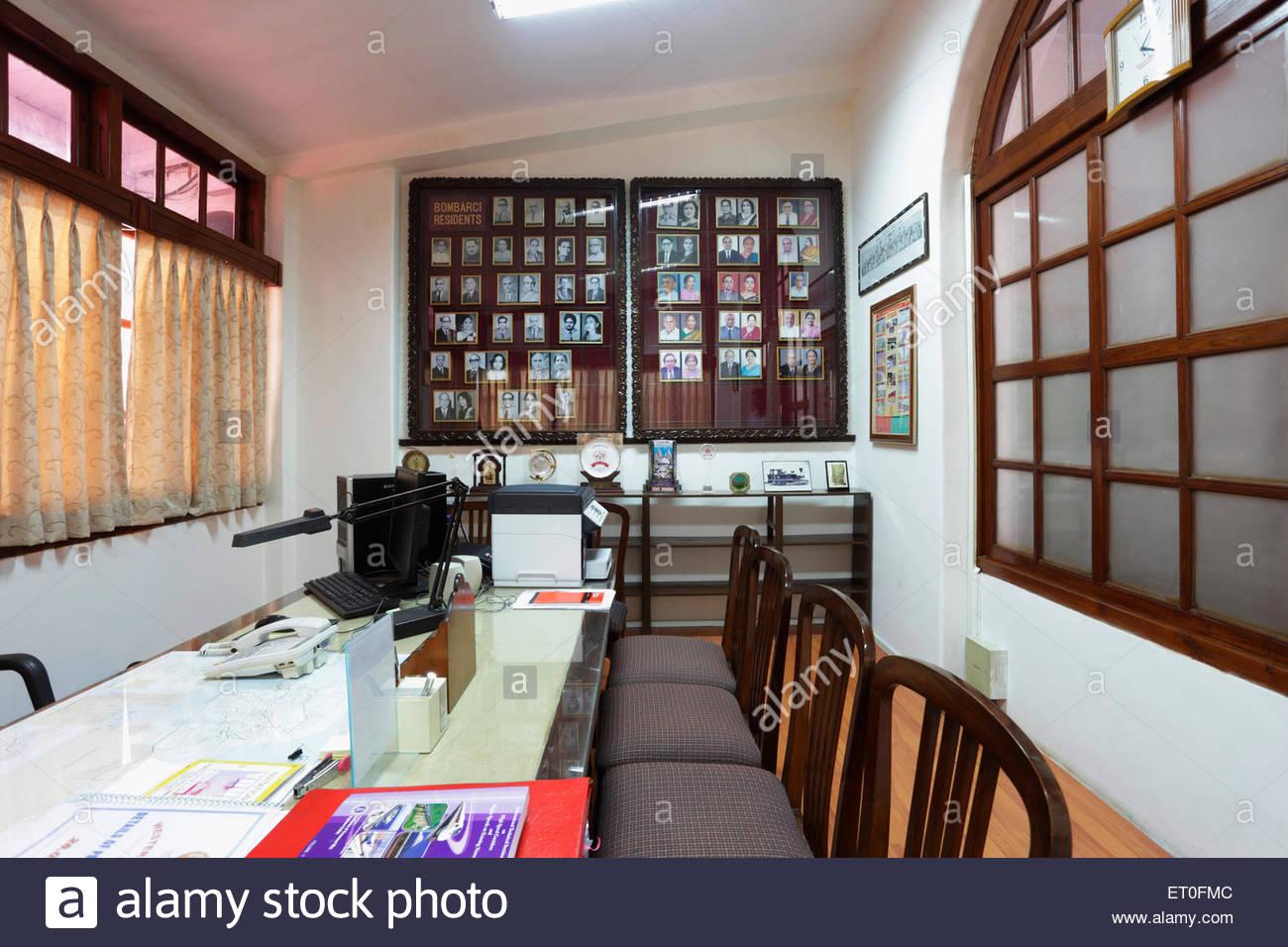 Chambre bureau dans bungalow patrimoine de directeur général western