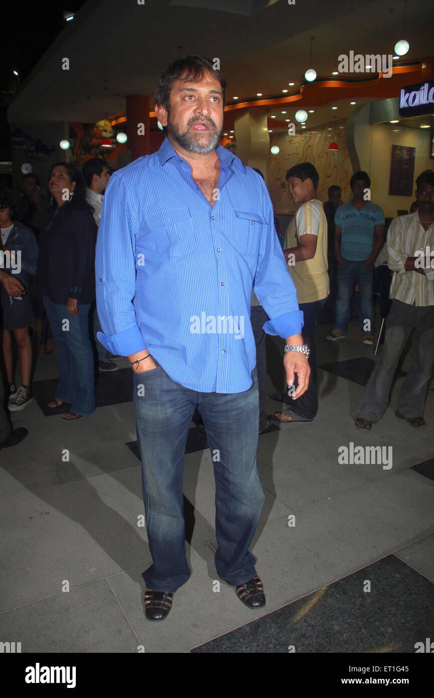 L'acteur réalisateur scénariste producteur Mahesh Manjrekar; Inde PAS DE MR Banque D'Images