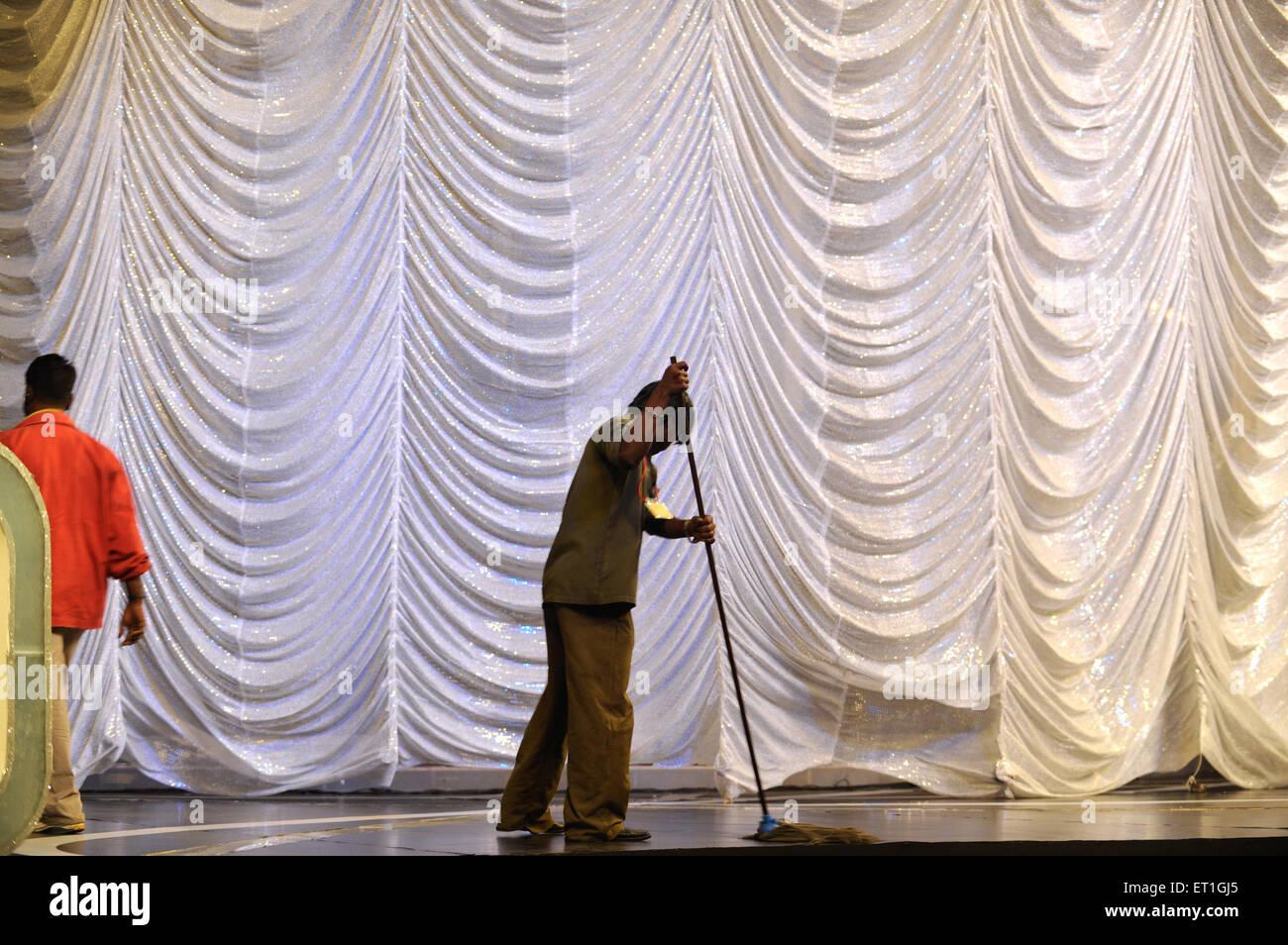 Préparation pour filmfare awards; Bombay Mumbai Maharashtra Inde; 2009; Photo Stock