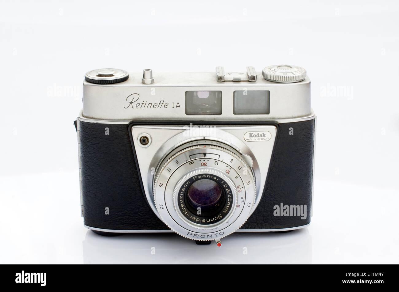 Un Kodak Retinette 1A Pune Maharashtra Inde caméra film Asie Photo Stock