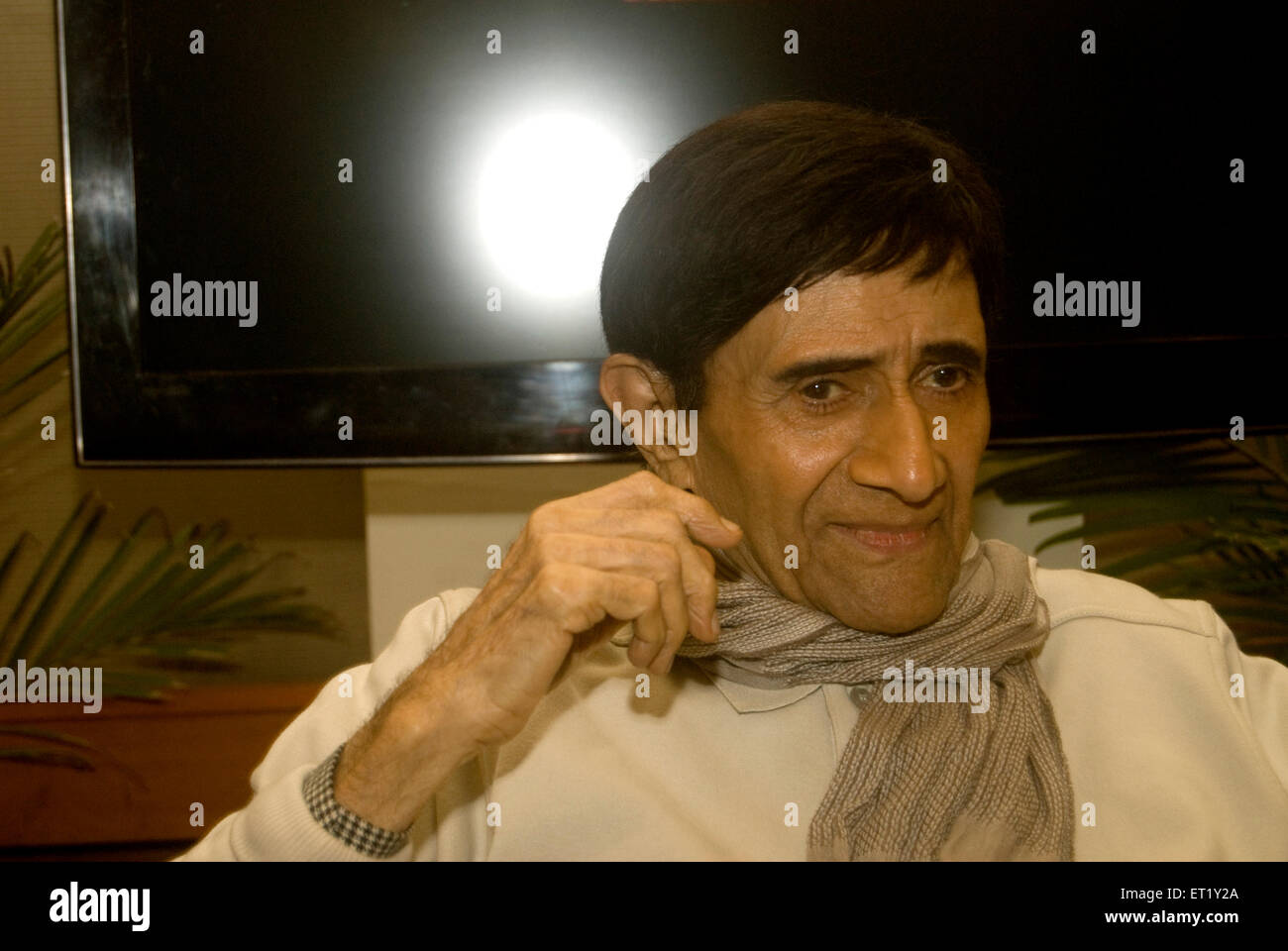 Bollywood acteur dev Anand Photo Stock
