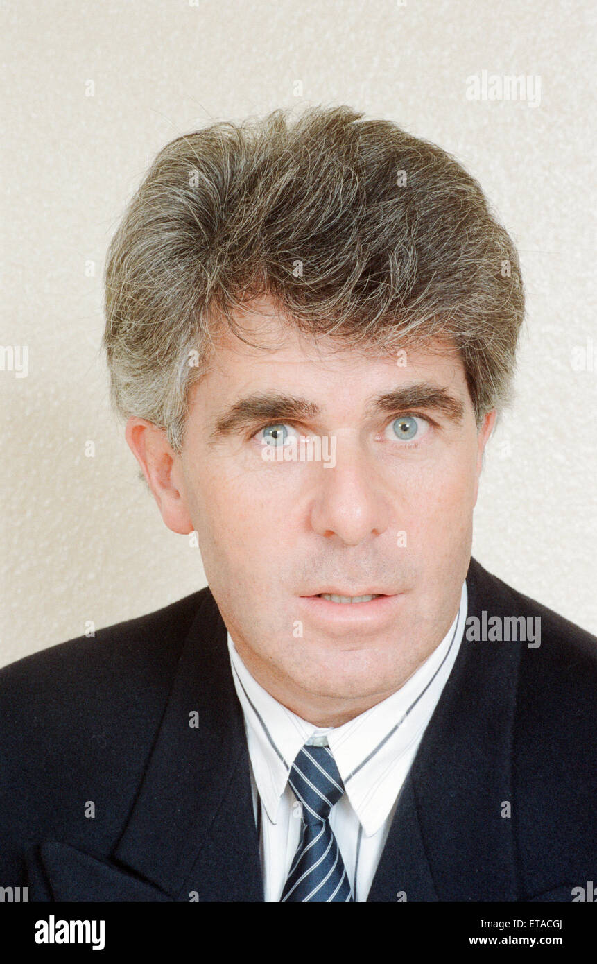 Max Clifford, publiciste, 31 mars 1989. Photo Stock