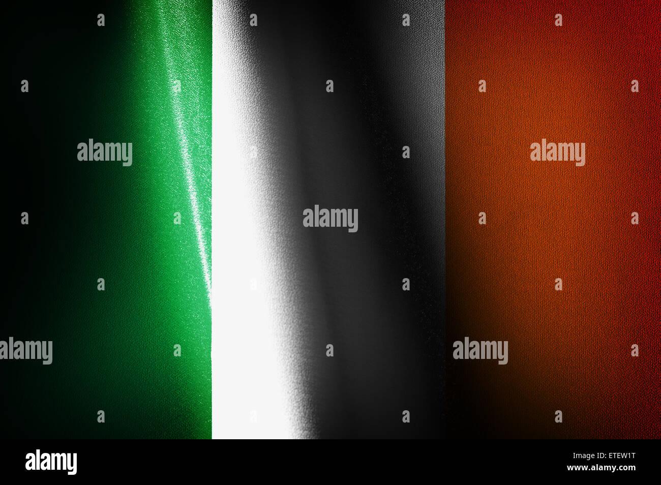 Les images des drapeaux de l'Irlande Photo Stock