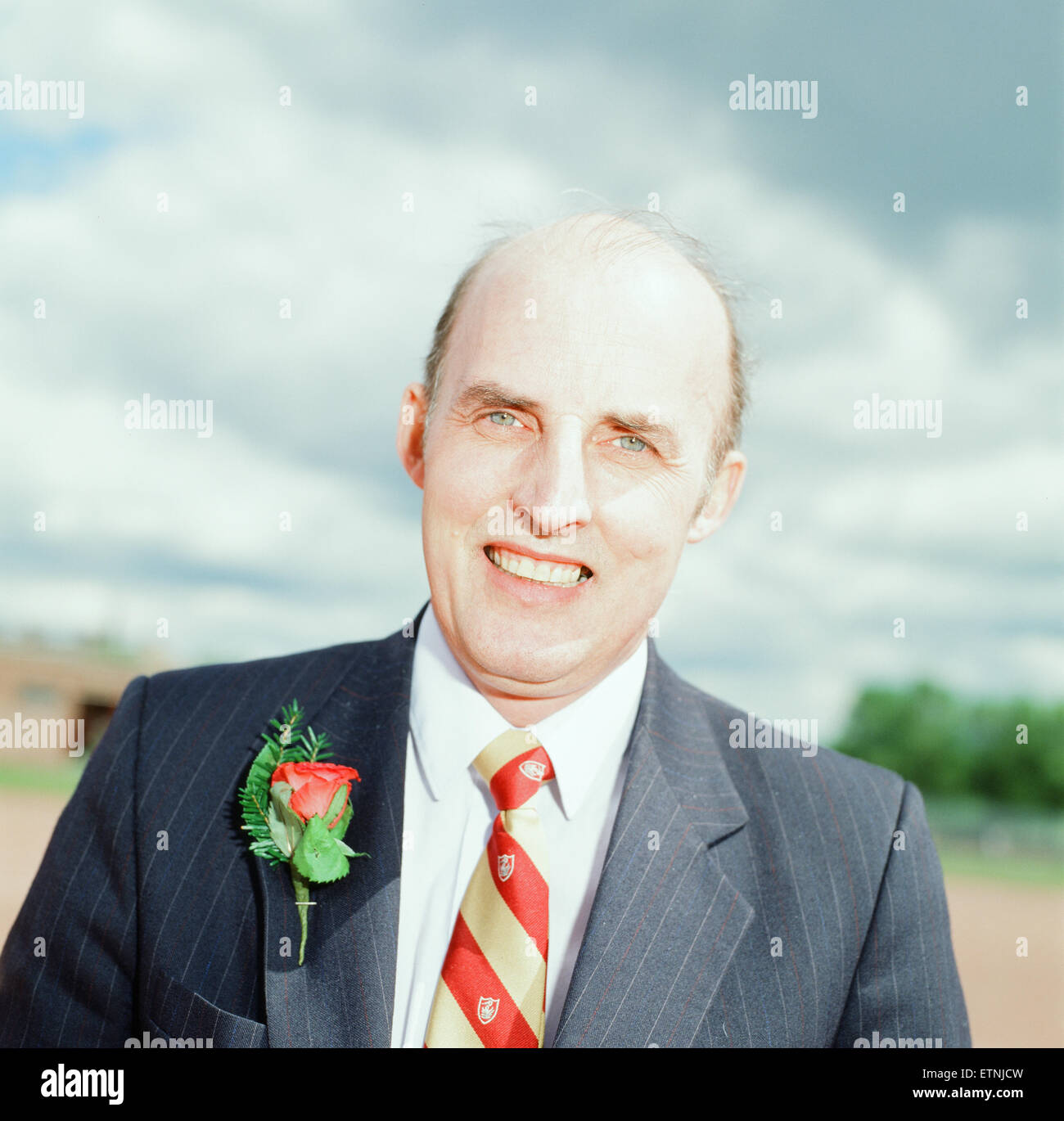 Sam Galbraith, député de Strathkelvin et Bearsden, photographié le 5 mai 1989. Parti travailliste Photo Stock
