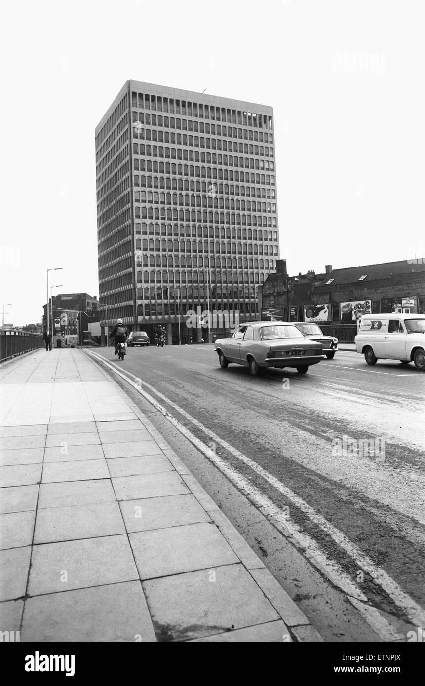 ES et un siège de Robinson et le premier gratte-ciel de Bristol à un Street, BRISTOL Redcliffe 30 Octobre Photo Stock