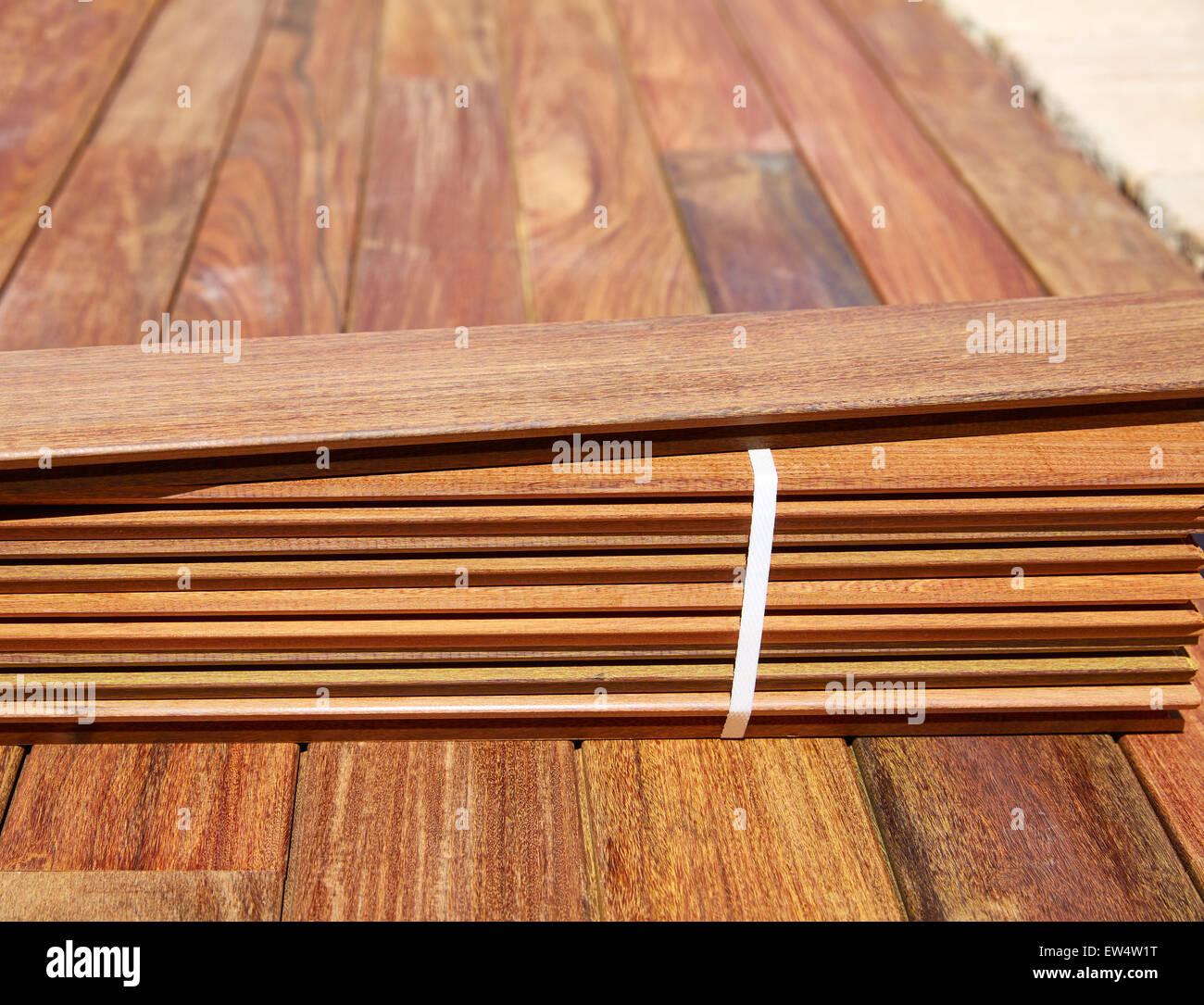 Ou Acheter Bois Ipe l'installation de lame terrasse ipe parquet à lattes de bois