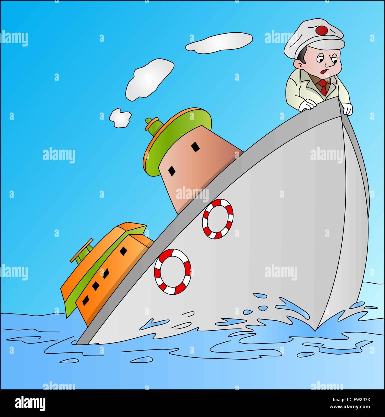 Sinking Vector Vectors Banque D Image Et Photos Alamy