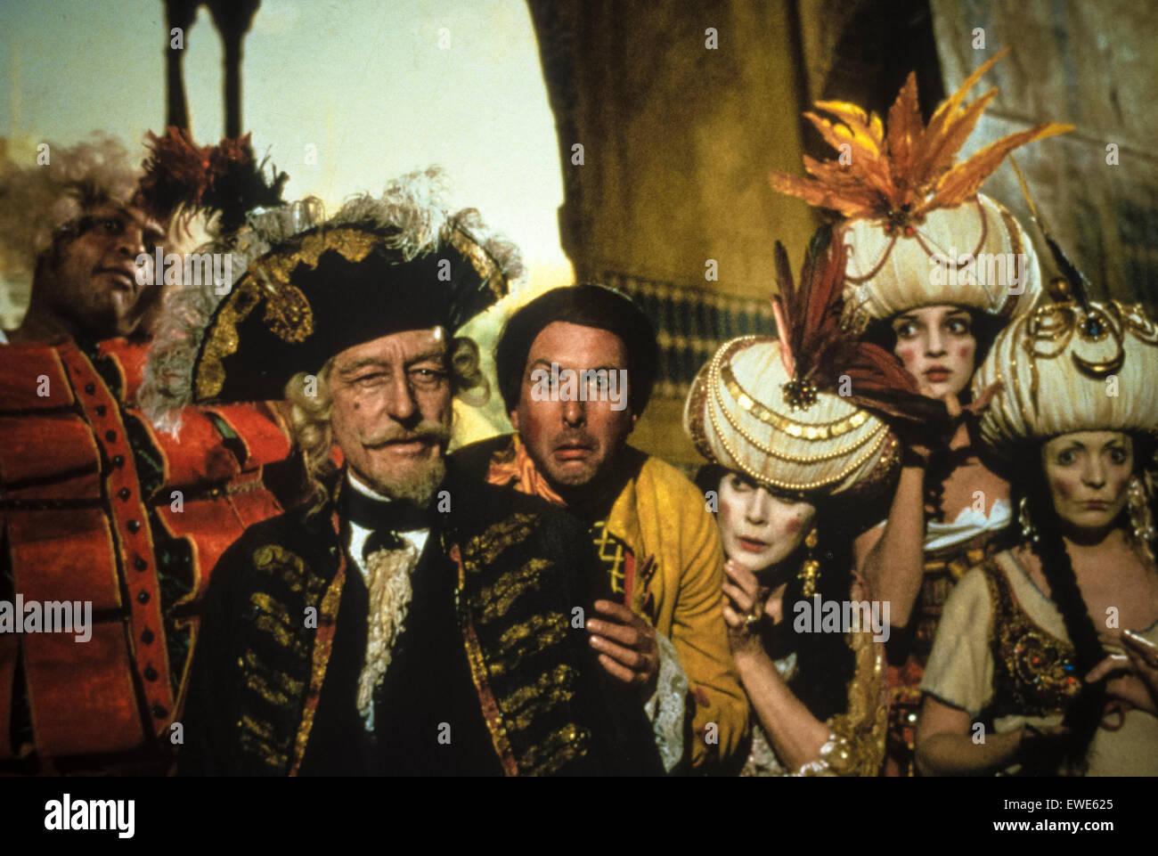 Les aventures du baron de Münchhausen Photo Stock
