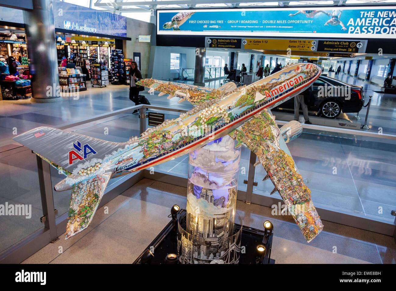 New York City NY NYC Queens l\'aéroport international John F. Kennedy ...