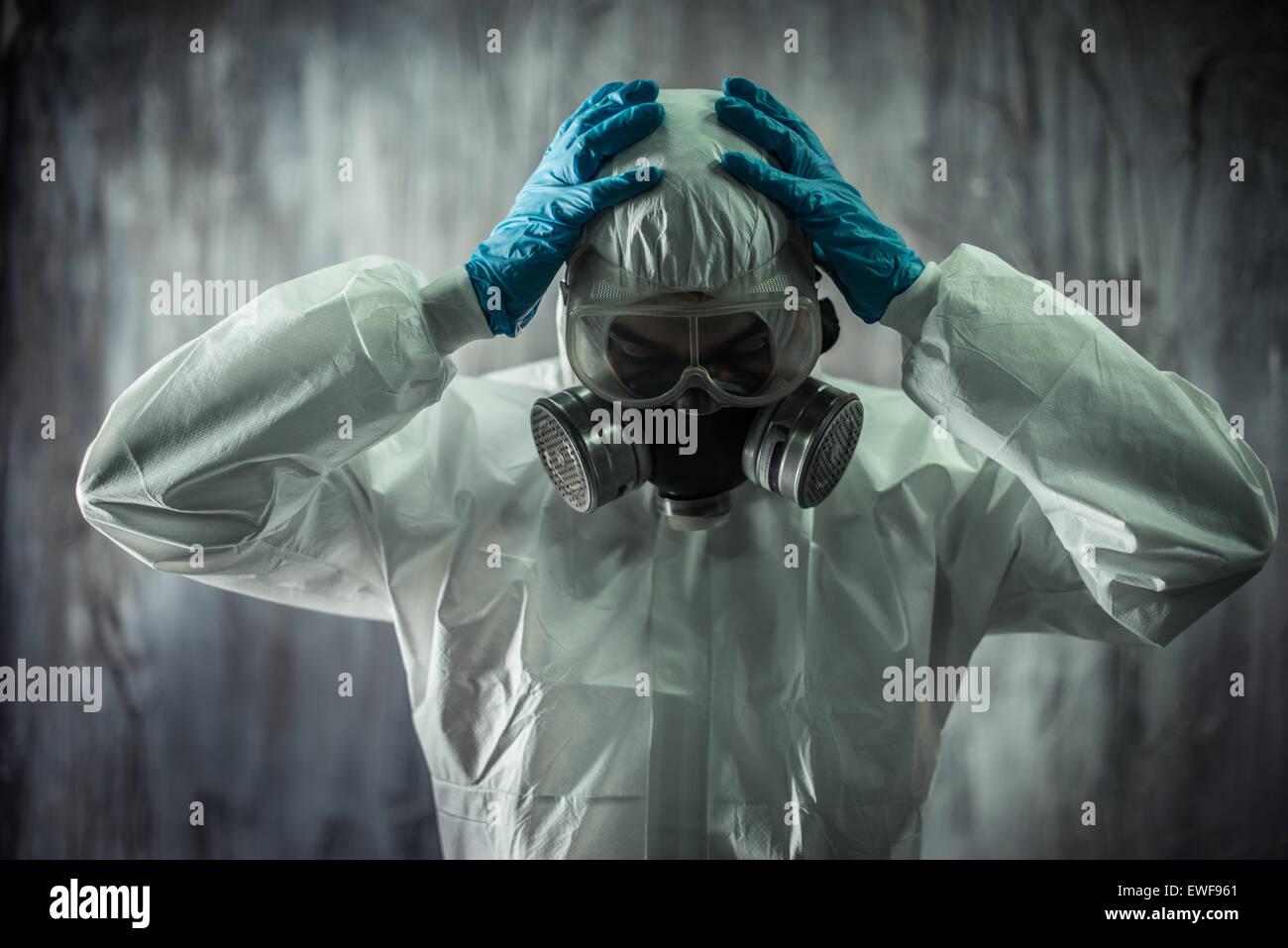 Concept pour la virologie et maladies Photo Stock
