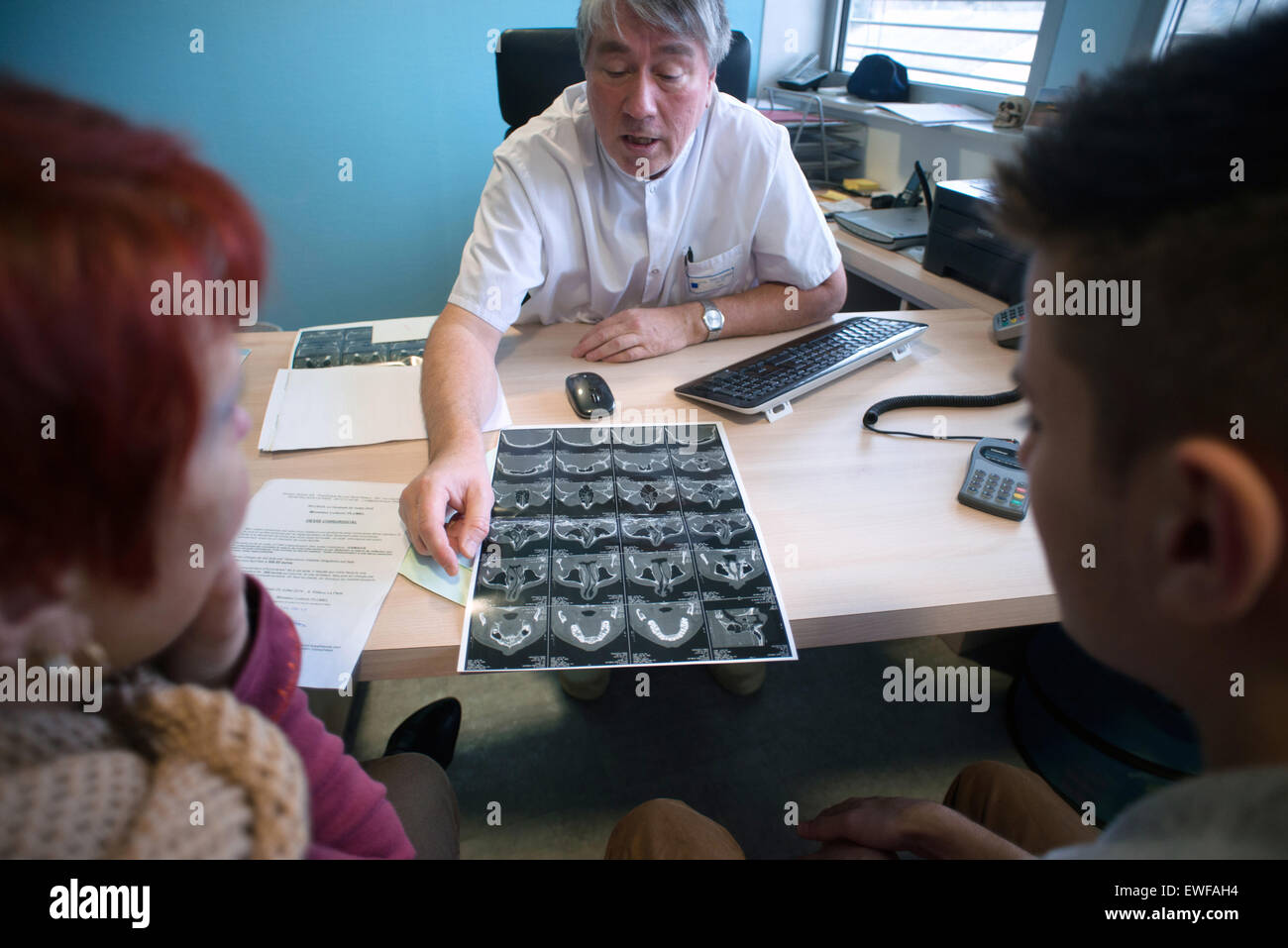 CONSULTATION ORL Photo Stock