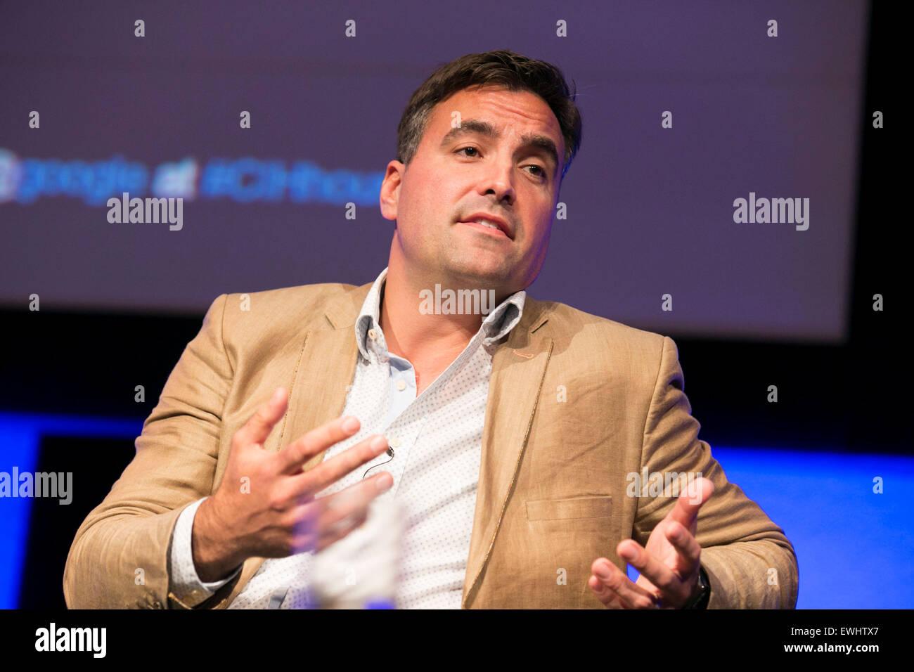 Alex Lowe ,, chef de secteur chez Google Photo Stock