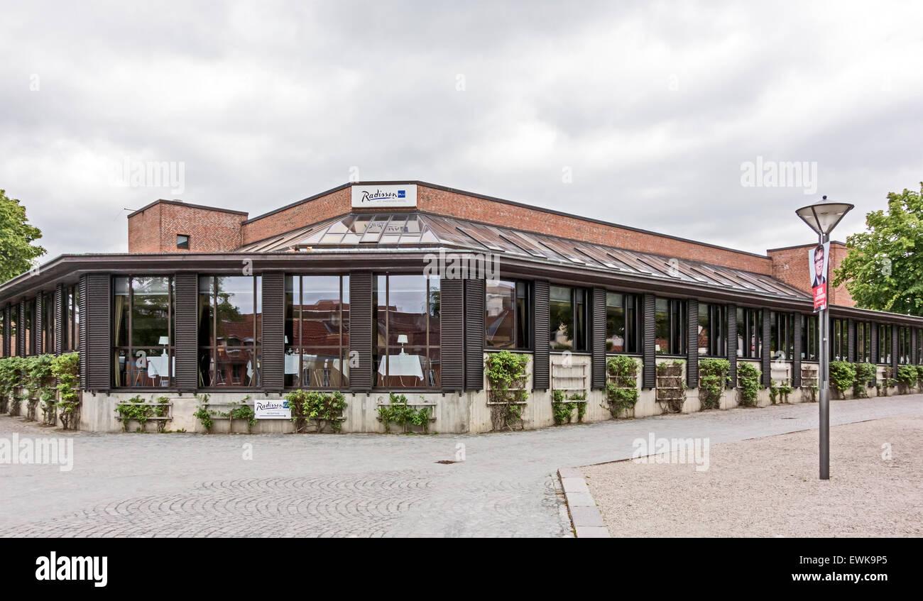 Radisson Blu H. C. Andersen Hotel à Claus Bergs Gade Odense Danemark Photo Stock