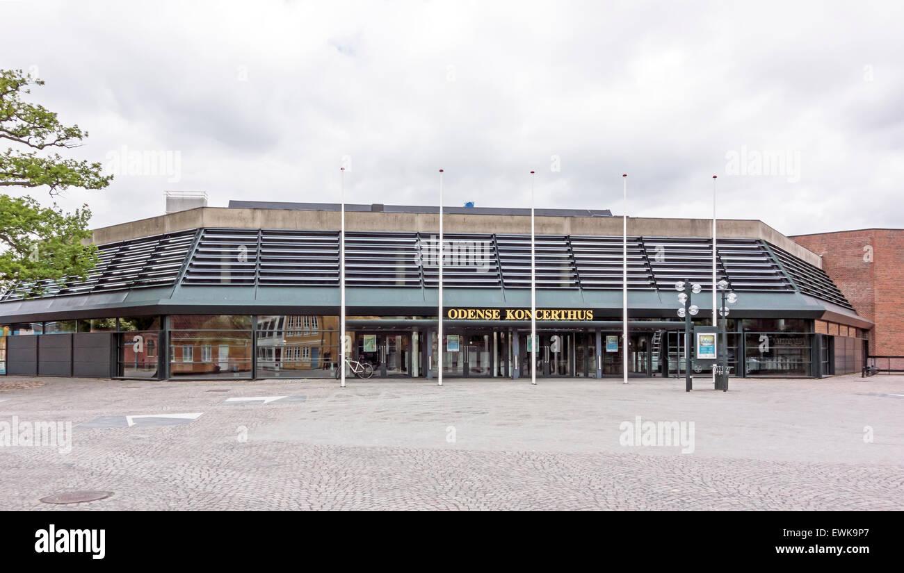 Odense Koncerthus (Salle de Concert) à Claus Bergs Gade Odense Danemark Photo Stock