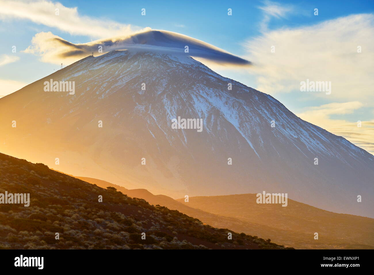 Le Parc National du Teide, Tenerife, Canaries, Espagne Photo Stock