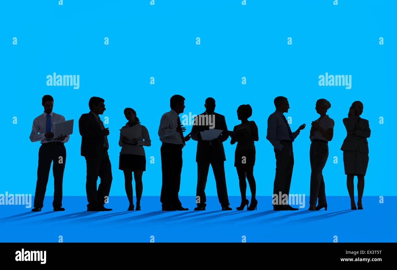 Les gens d'affaires Réunion Conférence Concept Discussion Photo Stock