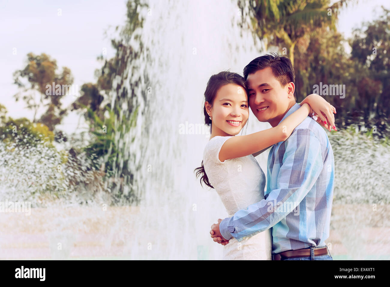 Happy Young Couple Photo Stock