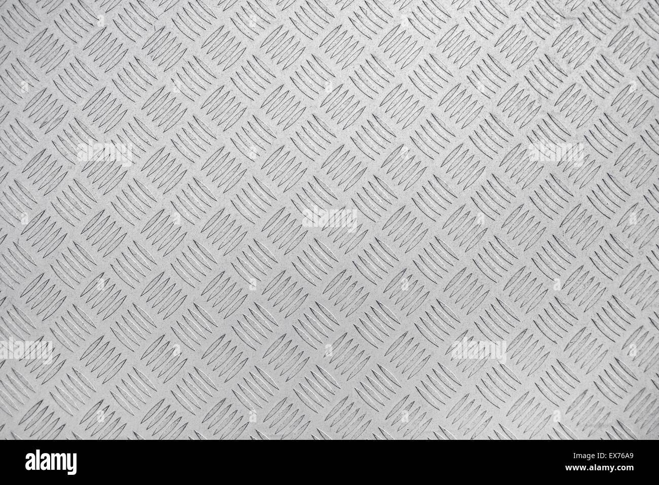 Plaque métallique en acier diamant Arrière-plan pour l'industrie de la construction en bois dans Anti Photo Stock