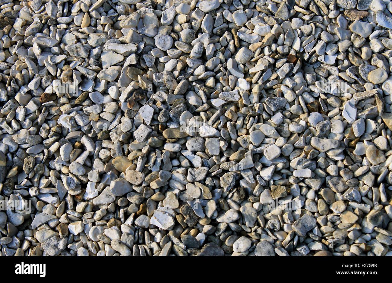 Résumé fond de galets ou de cailloux. Photo Stock