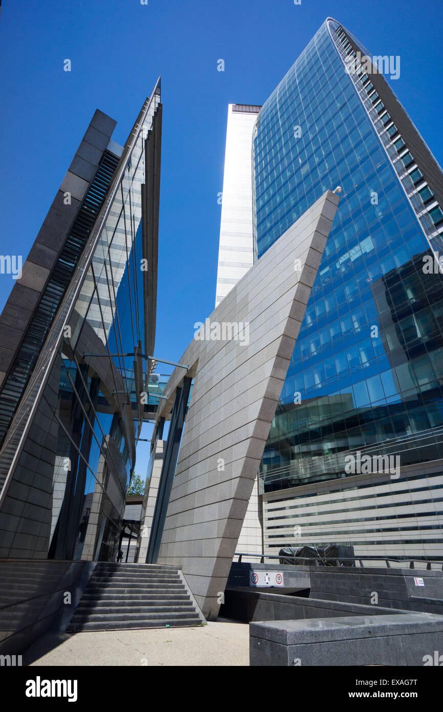 L'Antel Building, Montevideo, Uruguay, Amérique du Sud Photo Stock