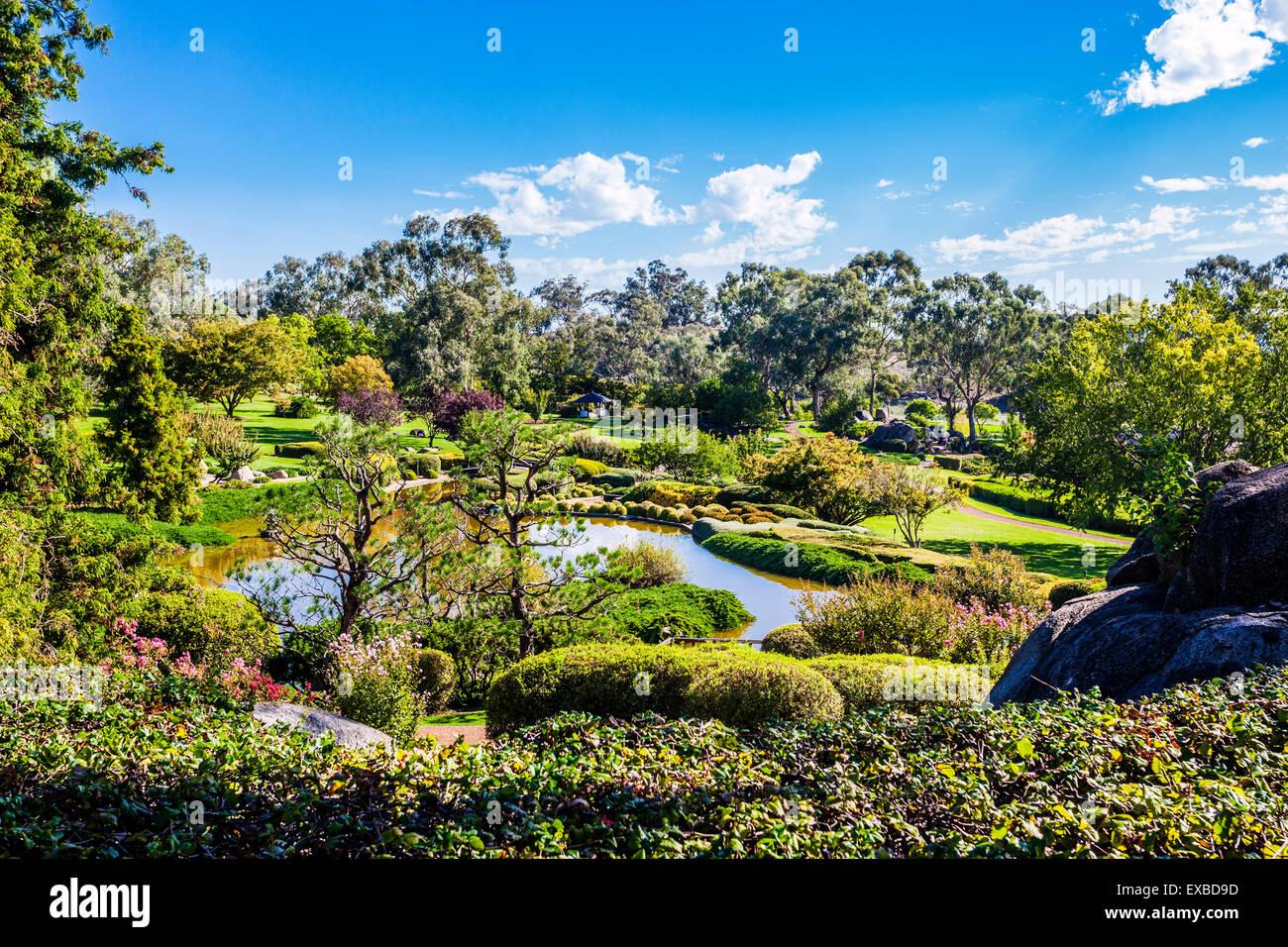 L'Australie, Nouvelle Galles du Sud, région du Centre-Ouest, Cowra Jardin japonais Photo Stock